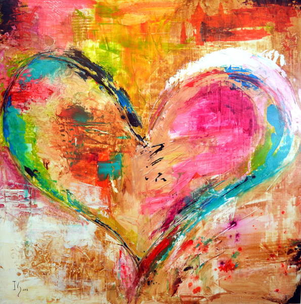Wall Art - Mixed Media - Love Is Divine by Ivan Guaderrama