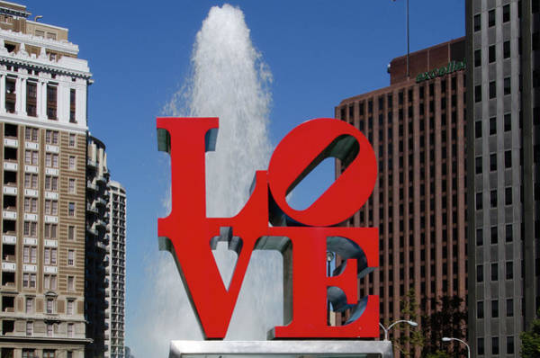 Photograph - Love - Philadelphia by Bill Cannon