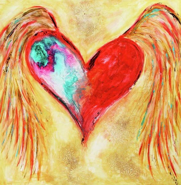 Wall Art - Mixed Media - Love Sweet Love by Ivan Guaderrama