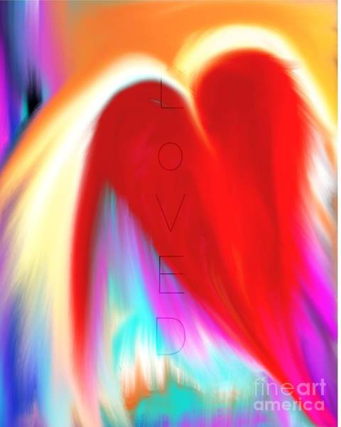 Digital Art - Loved by Jessica Eli