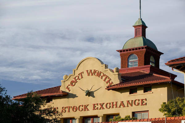 Stockyards Photograph - Low Angle View Of A Commercial by Panoramic Images