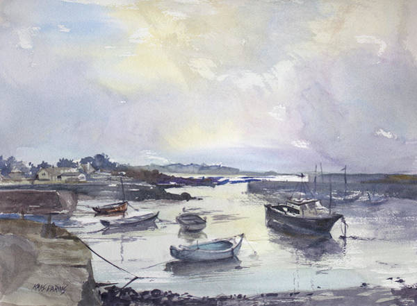 Wall Art - Painting - Low Tide by Kris Parins