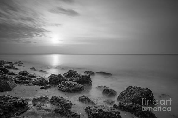 Low Tides Photograph - Low Tide Sunset  by Michael Ver Sprill