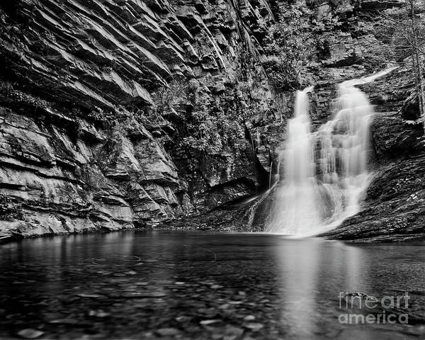 Nc State Wall Art - Photograph - Lower Cascade 1 by Patrick M Lynch