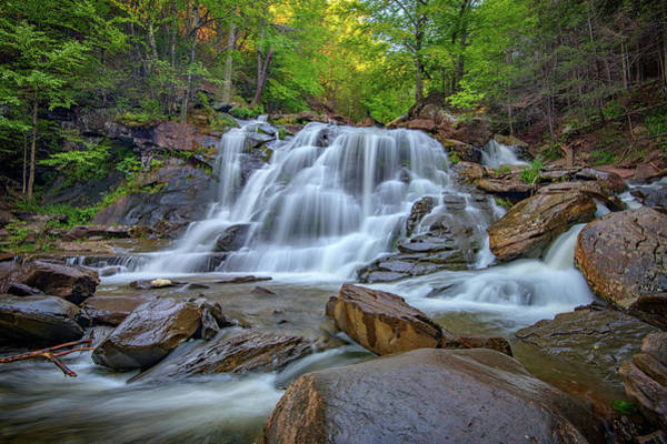 Wall Art - Photograph - Lower Kaaterskill Falls by Rick Berk