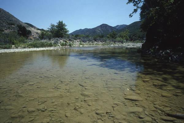San Rafael Wilderness Photograph - Lower Sisquoc River - San Rafael Wilderness by Soli Deo Gloria Wilderness And Wildlife Photography