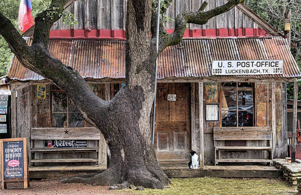 Wall Art - Photograph - Luckenbach by JC Findley