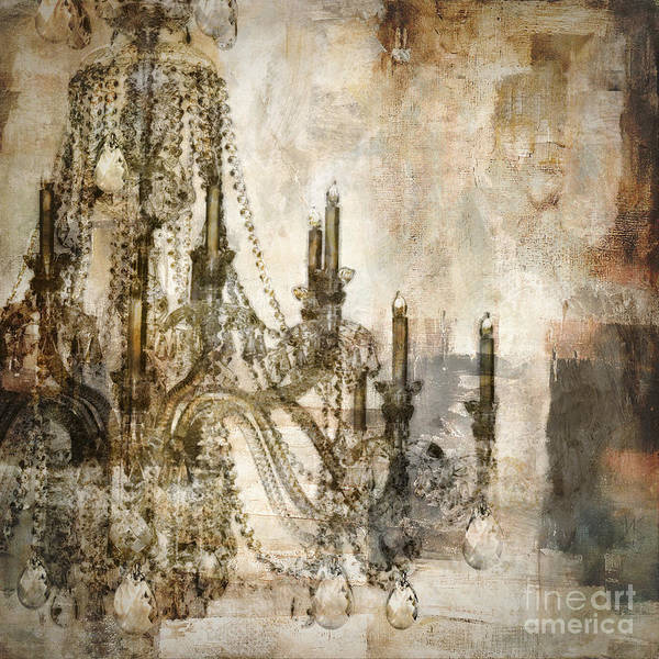 Wall Art - Painting - Lumieres by Mindy Sommers