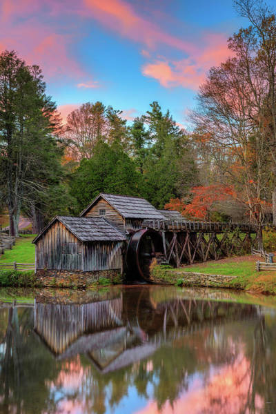Grist Mill Photograph - Mabry Mill  by Emmanuel Panagiotakis