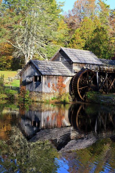 Photograph - Mabry Mill Reflections by Jill Lang