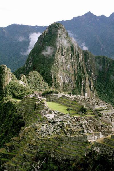 Machu Picchu At Sunrise Art Print