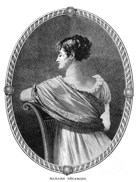Drawing - Madame J.f. Recamier  by Granger