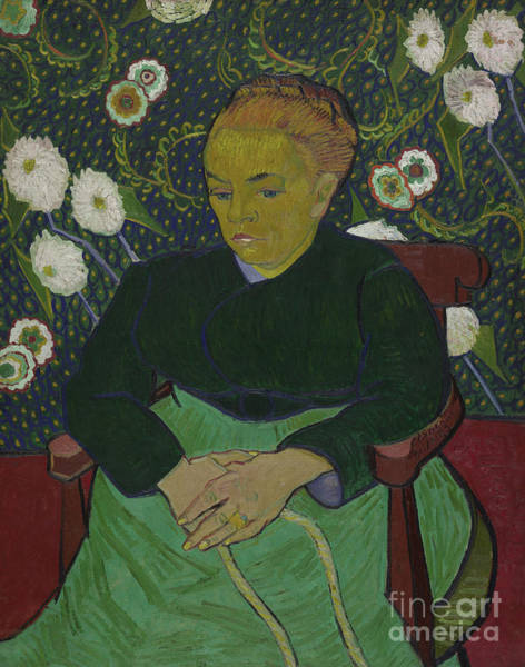 Rocking Chairs Painting - Madame Roulin Rocking The Cradle by Vincent Van Gogh