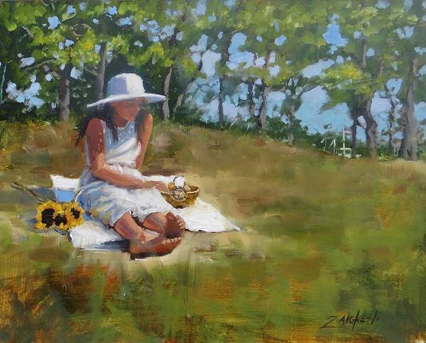Wall Art - Painting - Madison Study 3 by Laura Lee Zanghetti