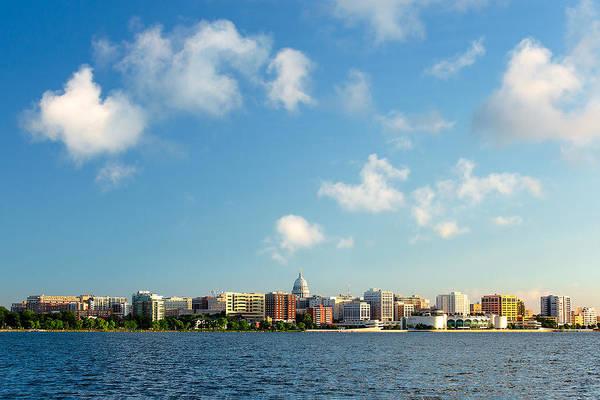 Photograph - Madison Skyline by Todd Klassy