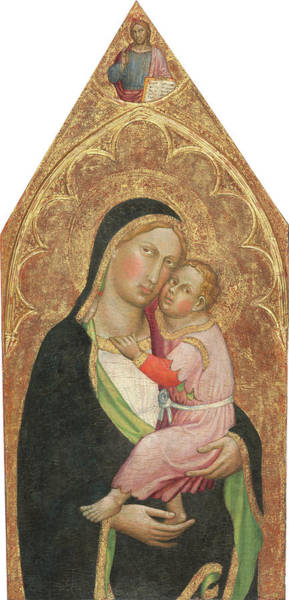 Painting - Madonna And Child by Martino Di Bartolomeo