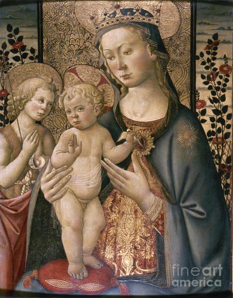 Photograph - Madonna & Child by Granger