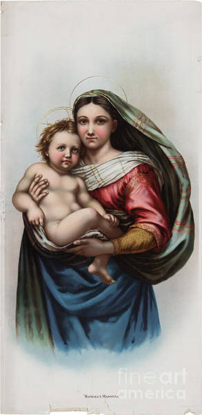 Painting - Madonna by Celestial Images