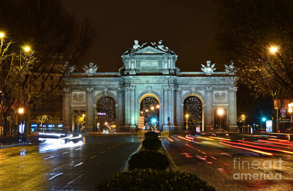 Photograph - Madrid - Spain - Puerta De Alcala by Carlos Alkmin
