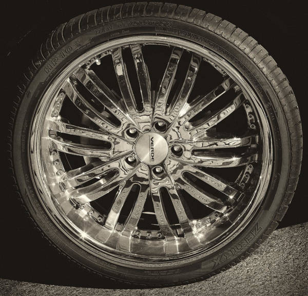Mag Wheels Wall Art - Photograph - Mag Wheel by Robert Ullmann