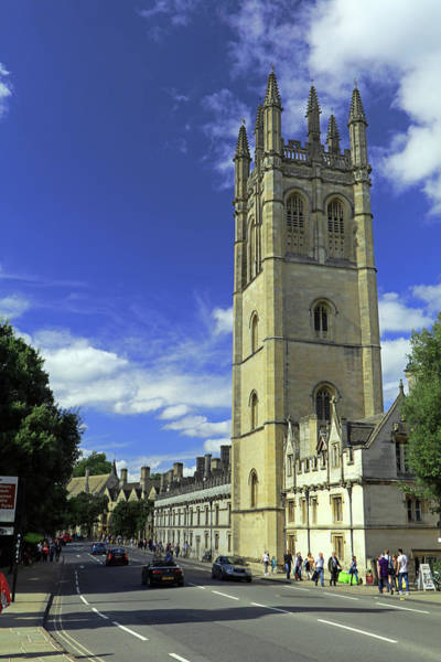 Photograph - Magdalen Tower by Tony Murtagh