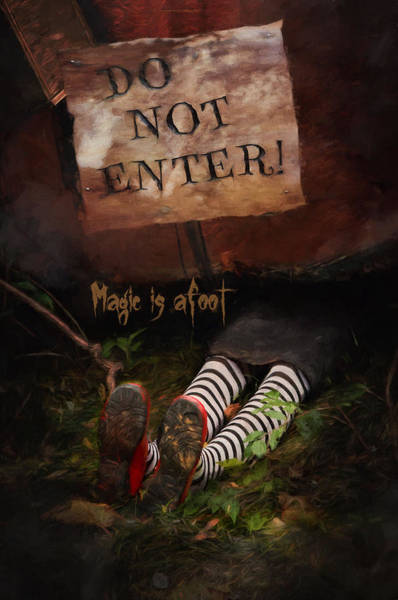 Photograph - Magic Is Afoot by Robin-Lee Vieira