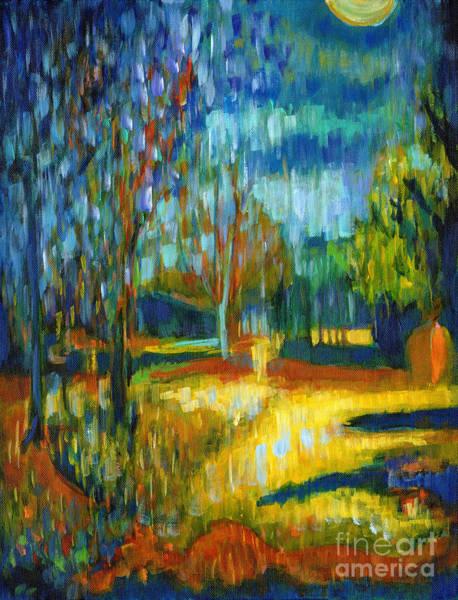 Painting - November Full Moon by Tanya Filichkin