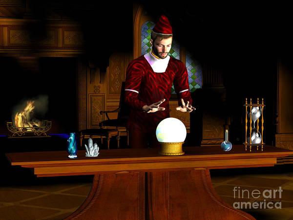 Shaman Digital Art - Magician by Corey Ford
