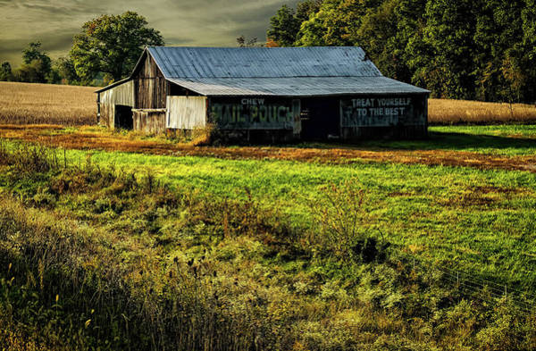 Hillside Wall Art - Photograph - Mail Pouch Barn by Elijah Knight