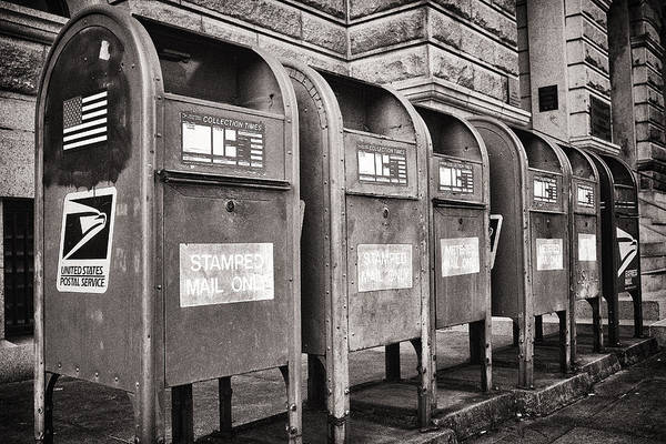 Photograph - Mailboxes by Patrick M Lynch