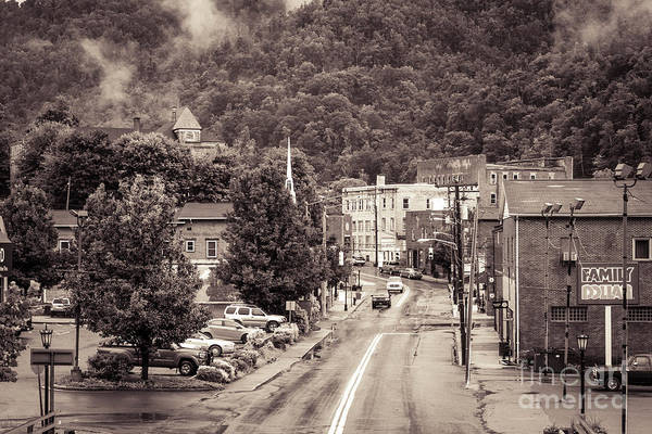 Photograph - Main Street Webster Springs by Thomas R Fletcher