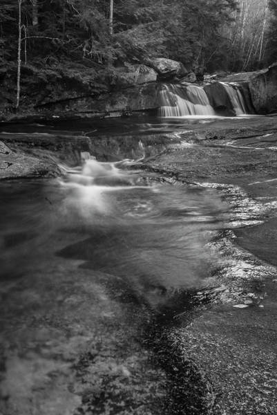 Photograph - Maine Screw Auger Falls In Grafton Notch by Ranjay Mitra