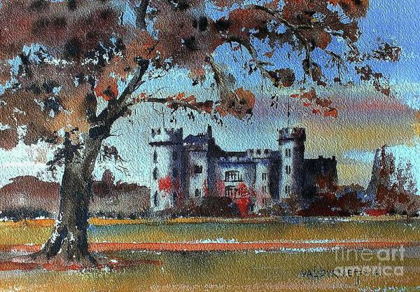 Painting - F 755 Malahide Castle, Dublin by Val Byrne