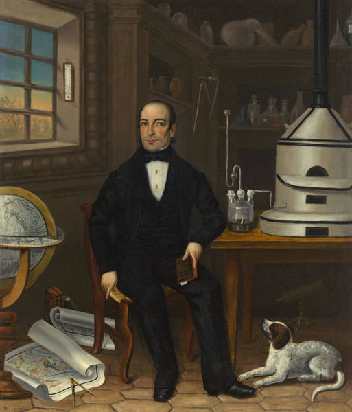 Painting - Man Of Science by American 19th Century