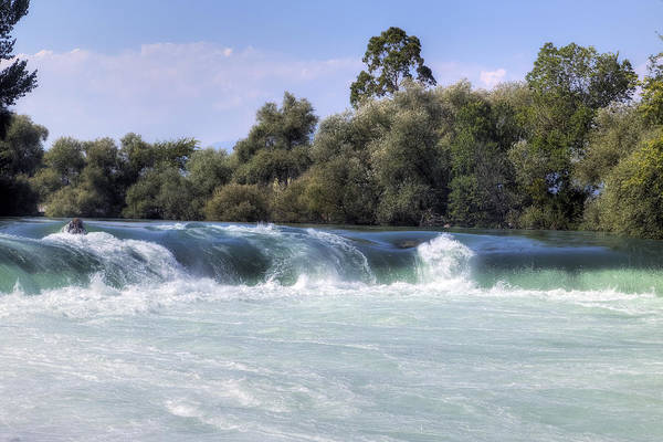 Wall Art - Photograph - Manavgat Waterfall - Turkey by Joana Kruse