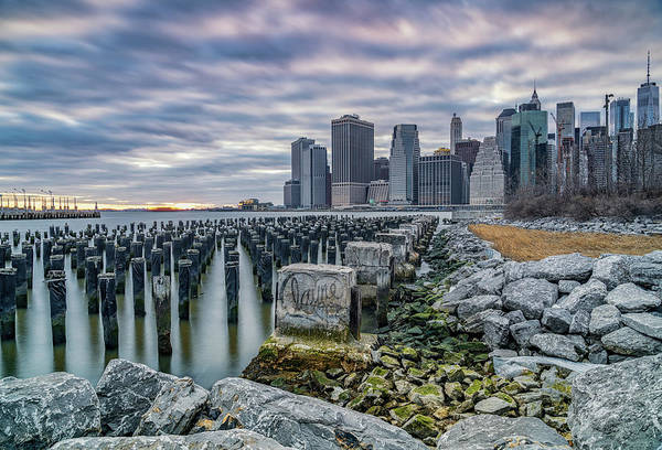 Photograph - Manhattan Skyline by Framing Places