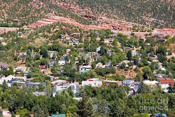 Photograph - Manitou Springs Colorado Intemann Trail by Steve Krull