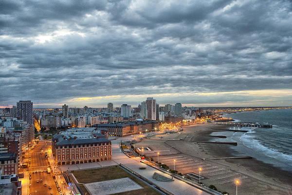 Cabildo Wall Art - Photograph - Mar Del Plata - Argentina by Hans Wolfgang Muller Leg