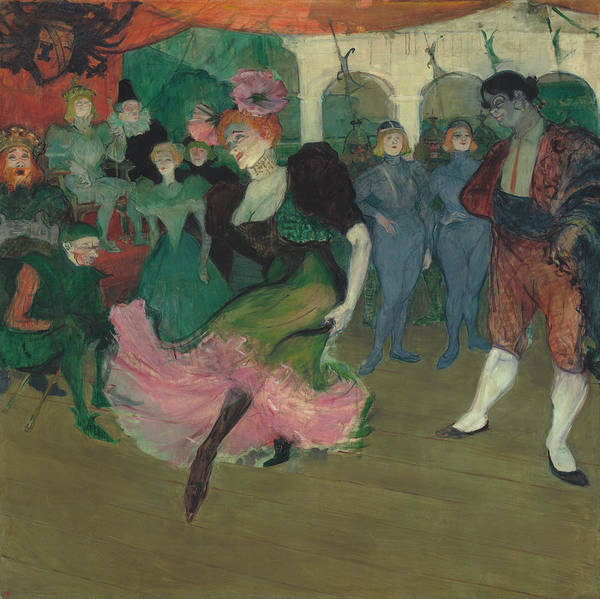 Painting - Marcelle Lender Dancing The Bolero In Chilperic by Henri De Toulouse-Lautrec