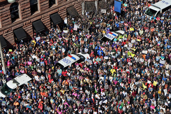 Photograph - March For Our Lives / Dc by David Posey