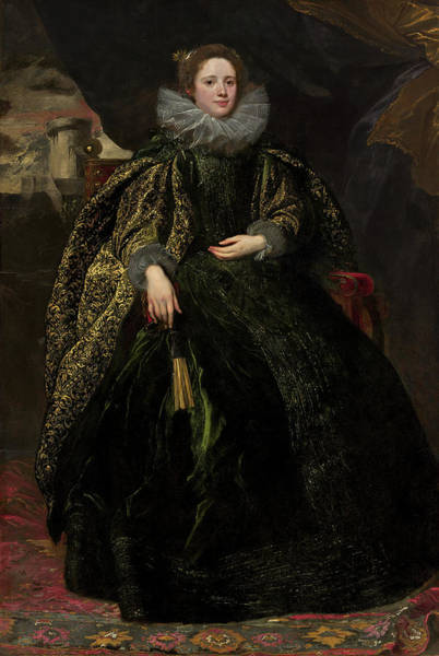 Painting - Marchesa Balbi by Sir Anthony Van Dyck