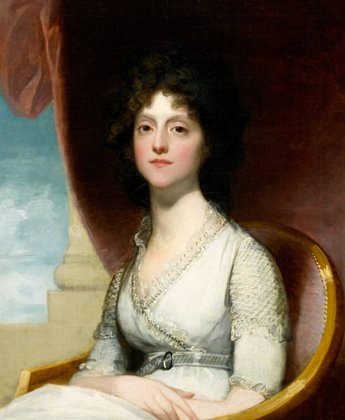 Painting - Marianne Ashley Walker  by Gilbert Stuart