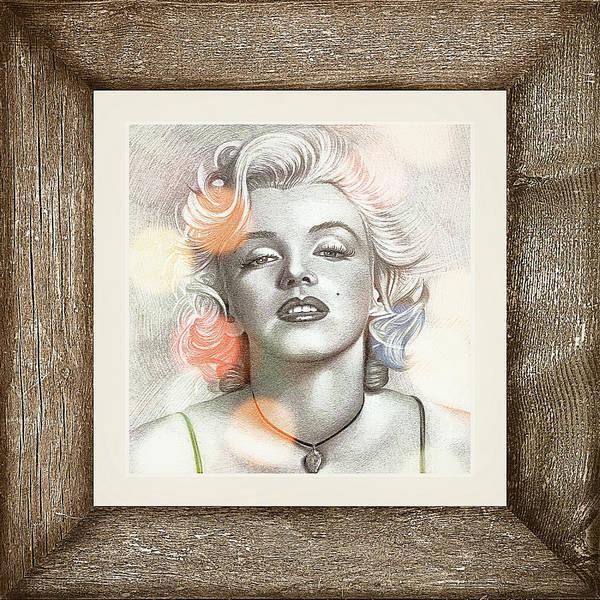 Digital Art - Marilyn Monroe 01 by Ericamaxine Price