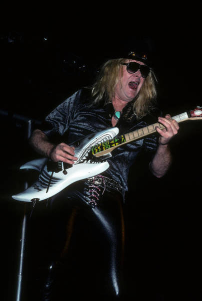 Photograph - Mark Kendall Of Great White by Rich Fuscia