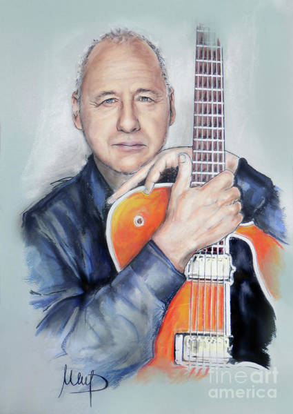Wall Art - Painting - Mark Knopfler by Melanie D
