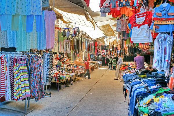 Photograph - Market Stall In Hebron by David Birchall
