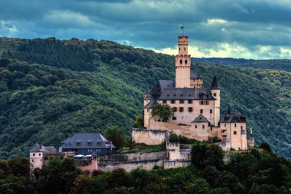 Wall Art - Photograph - Marksburg Castle by Hans Zimmer