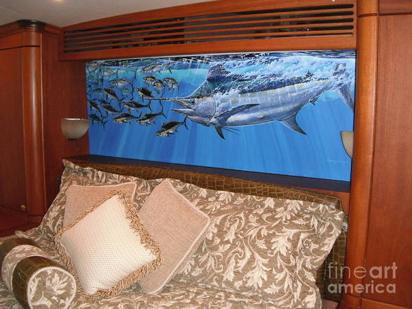 Wall Art - Photograph - Marlin Commission  by Carey Chen