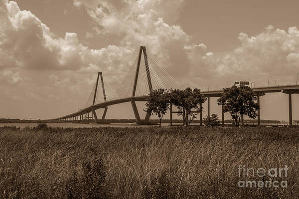 Photograph - Marsh To Bridge by Dale Powell