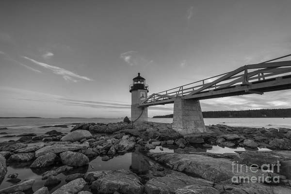 Marshall Point Lighthouse Photograph - Marshall Point Lighthouse Reflections by Michael Ver Sprill